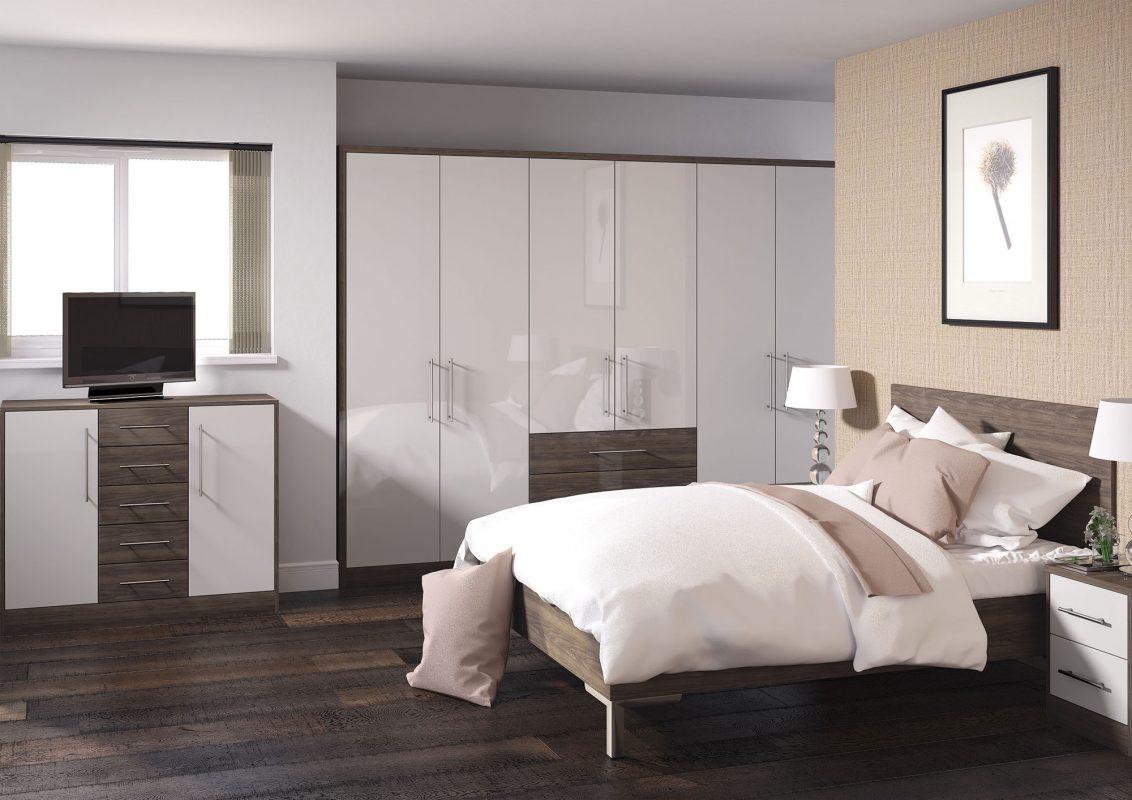 Zurfiz Ultragloss Cashmere, Ultragloss Japanese Pear Bedroom