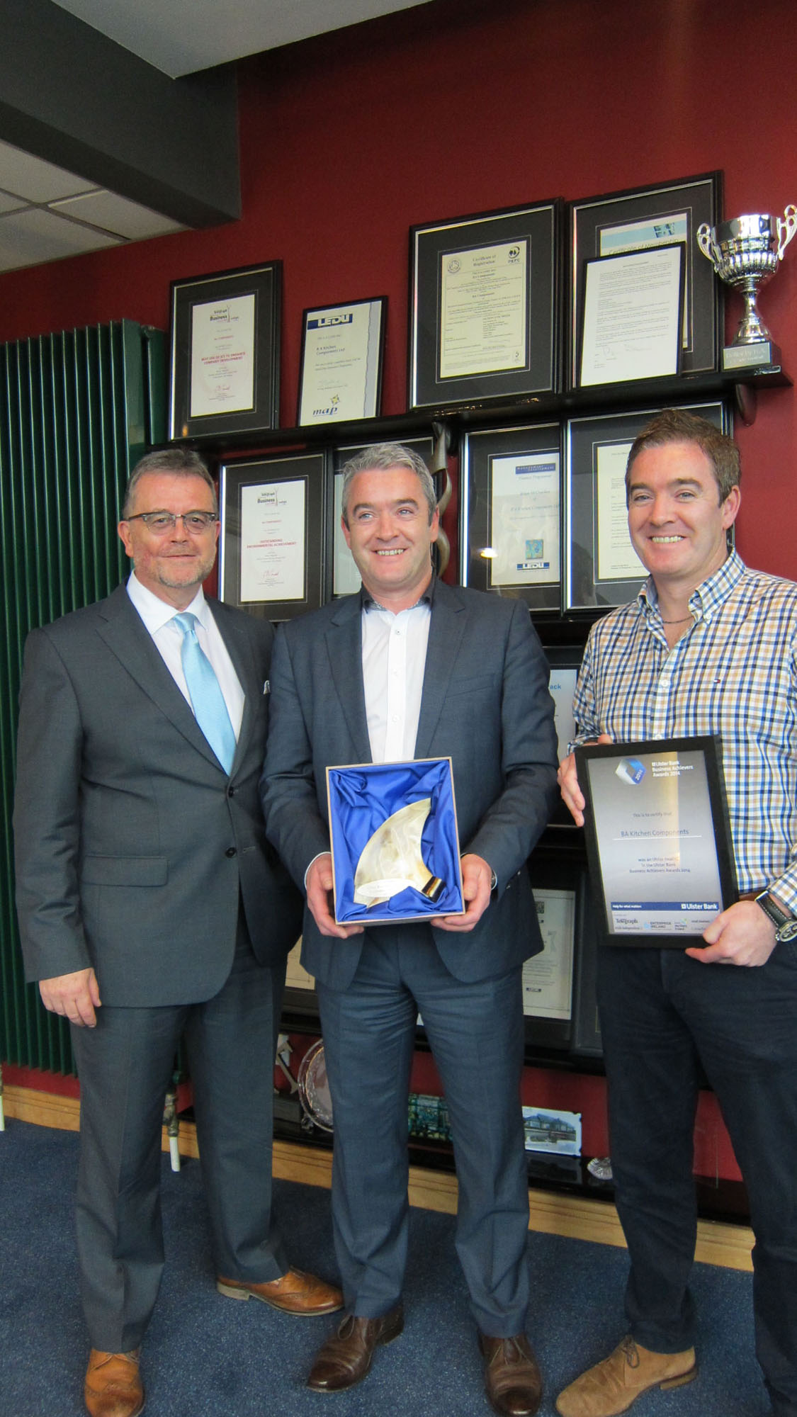BA Components Awarded Best SME at The Ulster Bank Awards