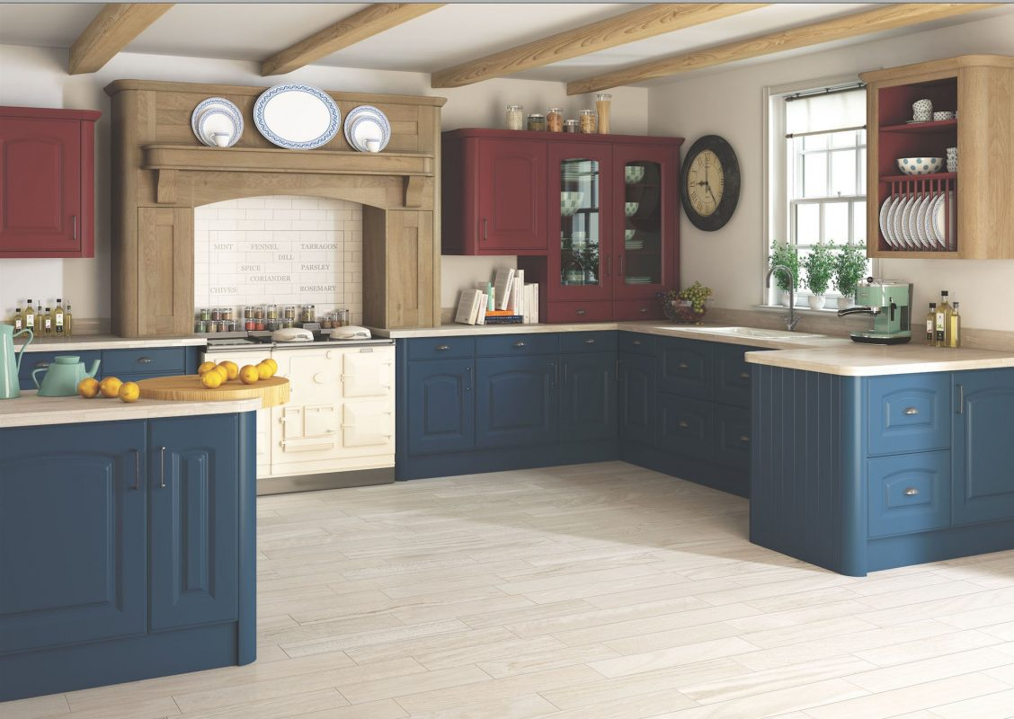 Bella By BA - Verona Paintable kitchen cupboard doors by BA Components