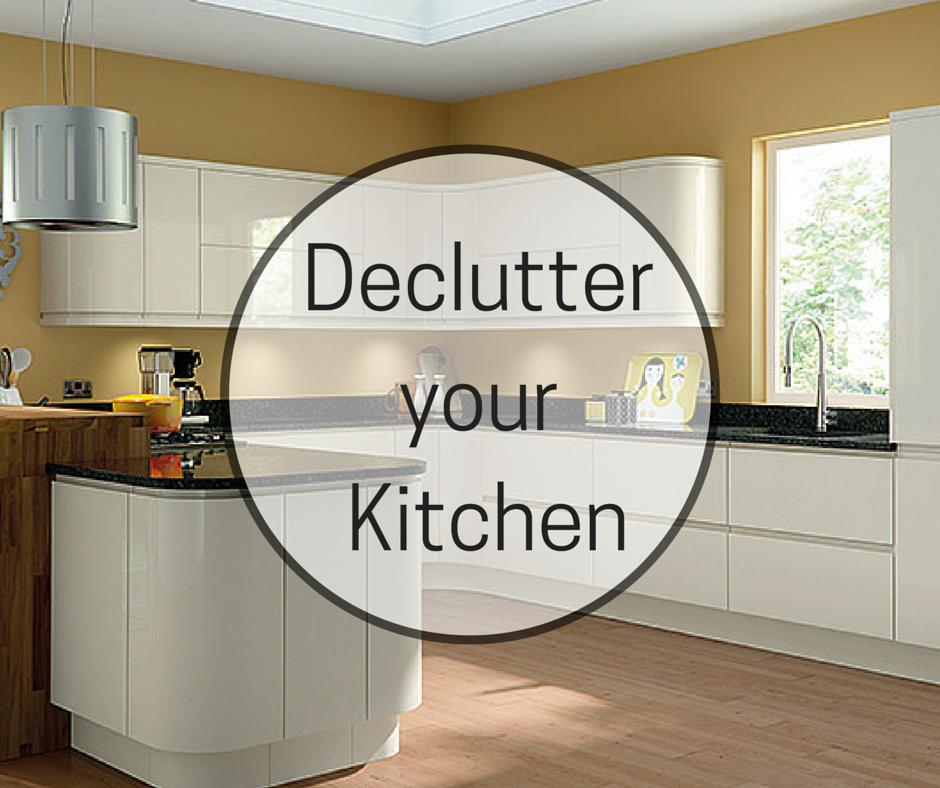 Decluttering the Kitchen