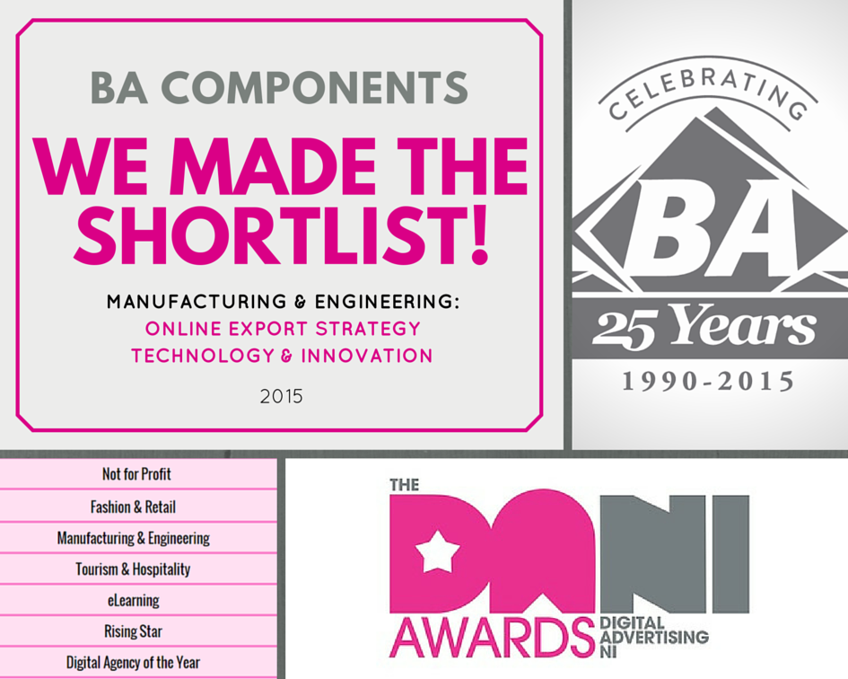 BA makes the Shortlist for the DANI Awards