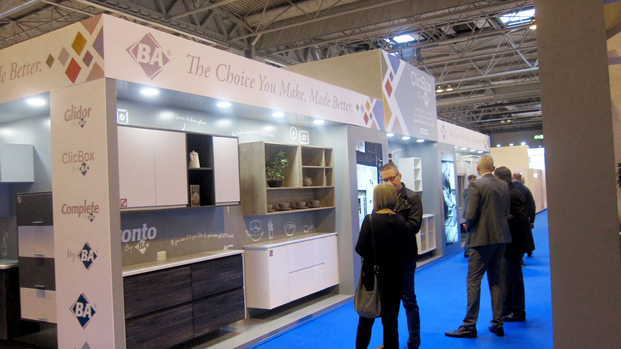 We had a BArilliant time at the KBB Birmingham 2016!