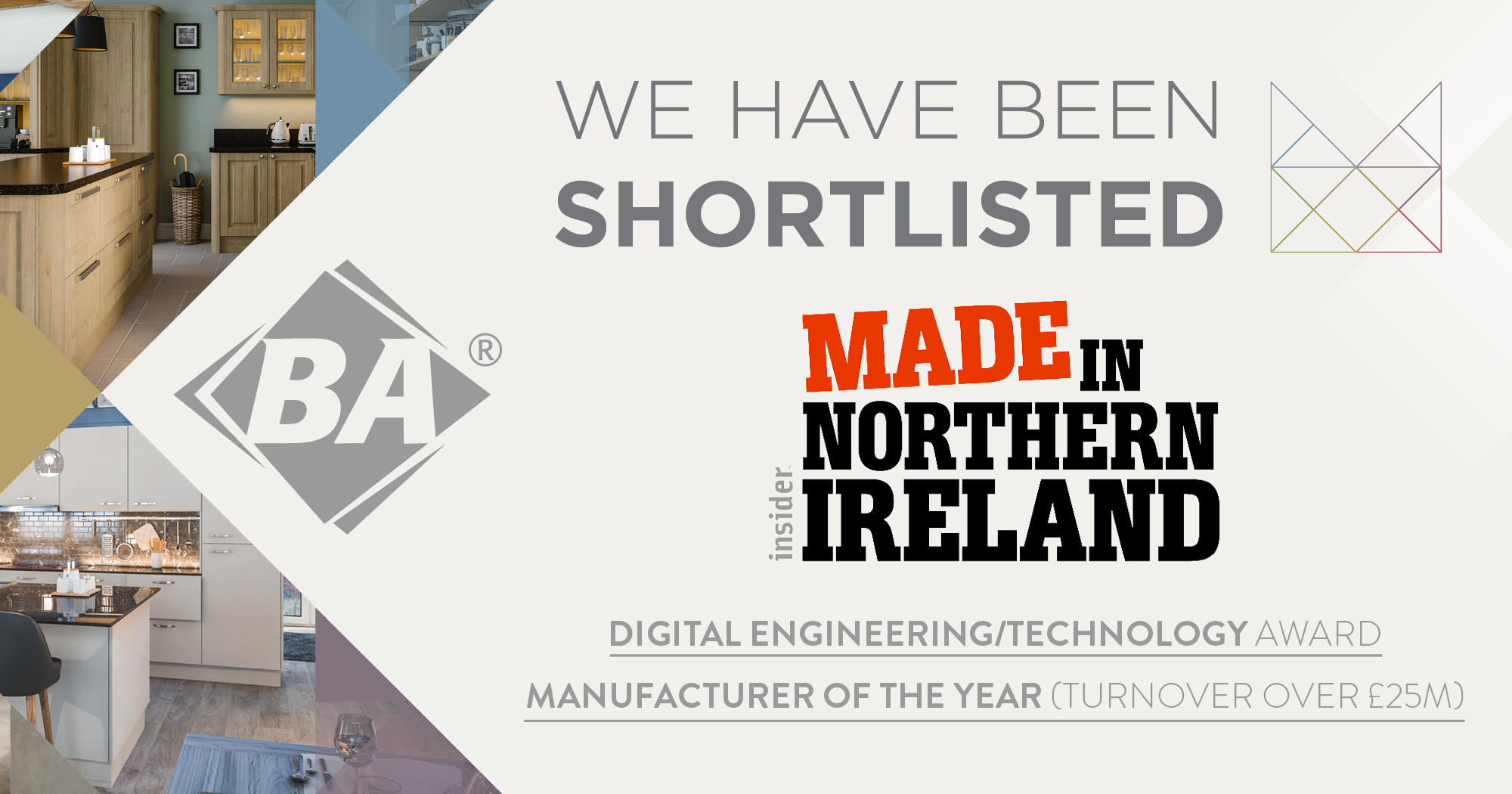 Making the Made In Northern Ireland Awards Shortlist Two Years In A Row