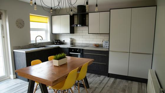 Step inside this striking BA Kitchen