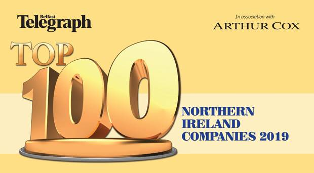 BA Named in Top 100 NI Companies List for 2019