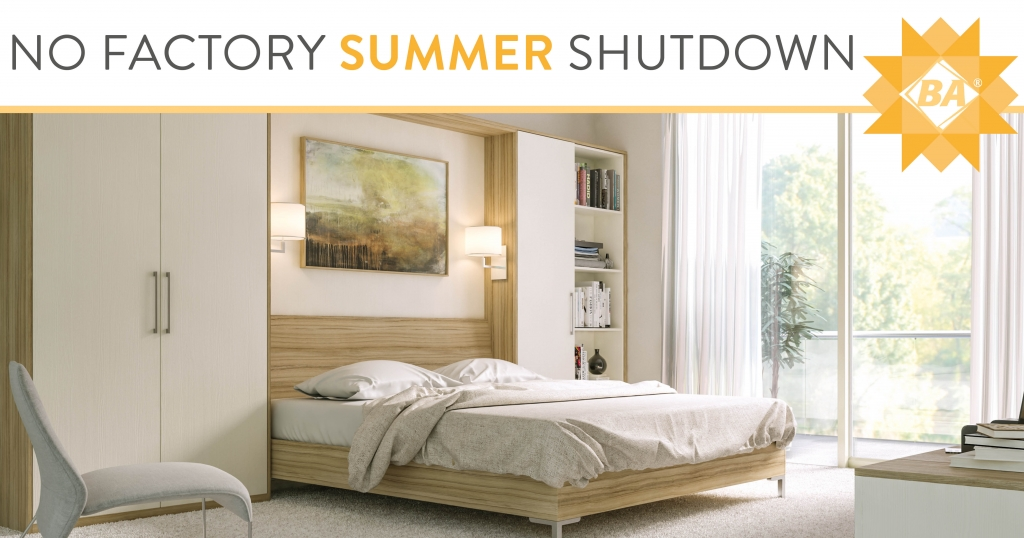 No Factory Summer Shutdown