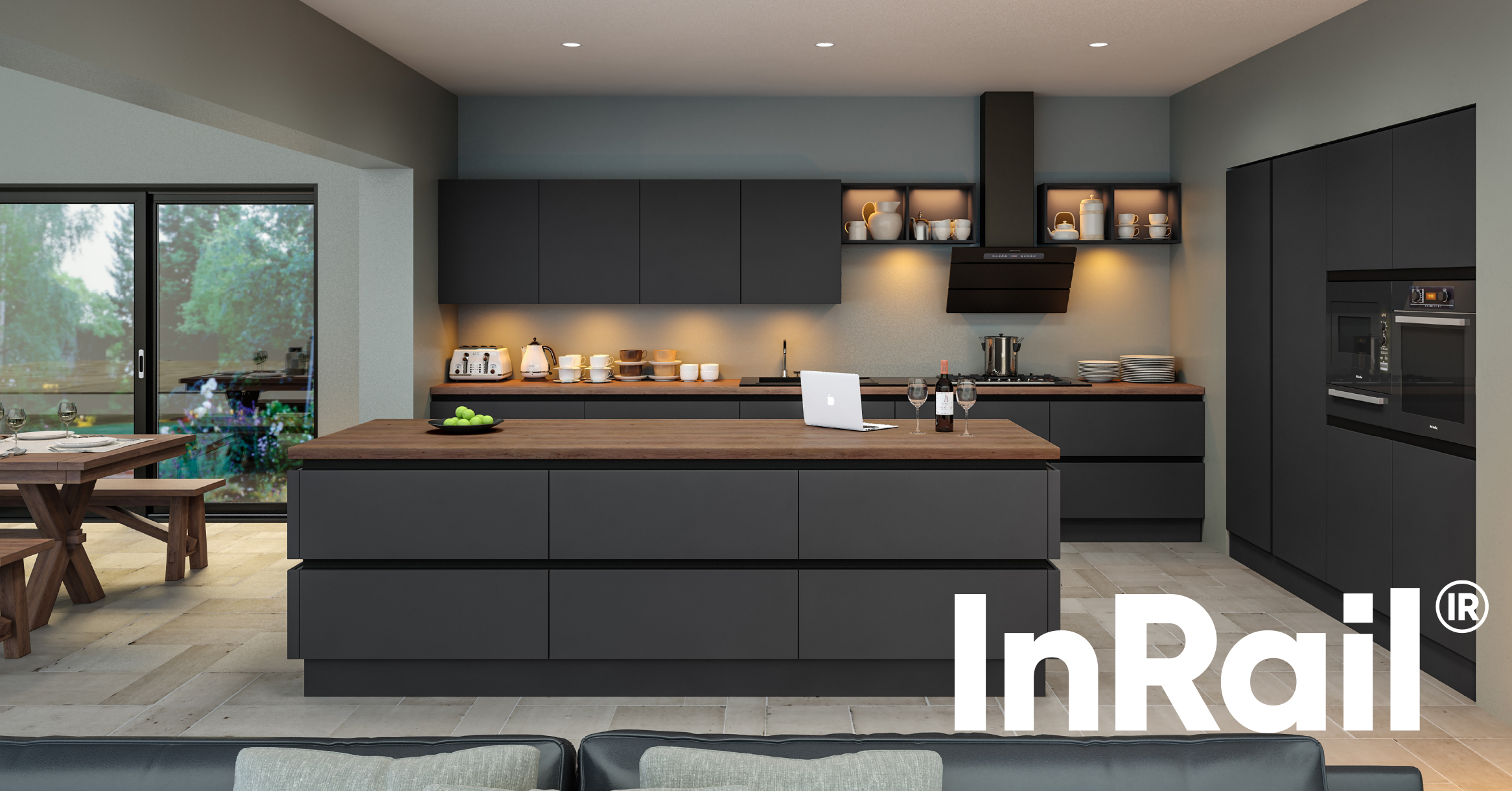 InRail – The Best Solution for Ready to Fit Kitchens