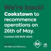 BA Cookstown ad Facebook